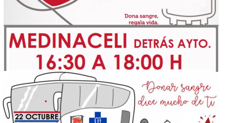 Campaña De Donación De Sangre En Medinaceli Y Santa María